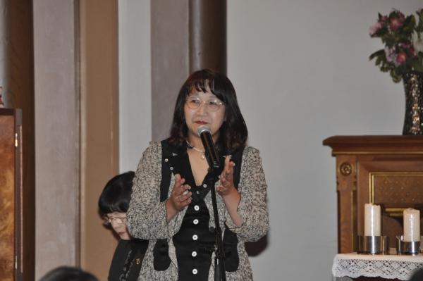 オルガニストの吉田恵さん